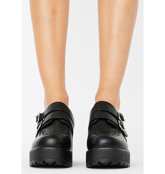 Koi Footwear Lago Platform Oxfords