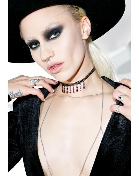 Givenchy Valentina Crystal Choker