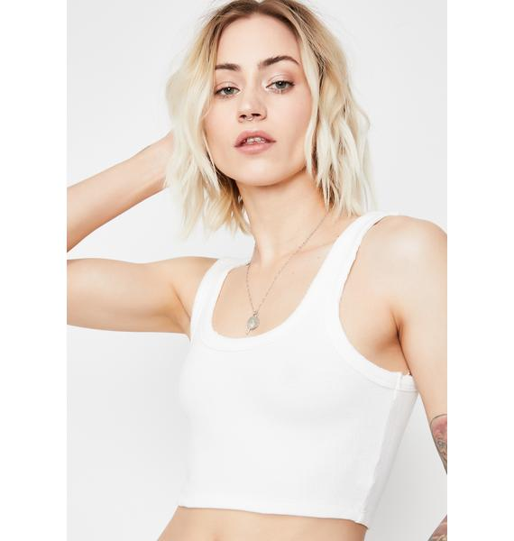 Icy Hottie Declaration Crop Top