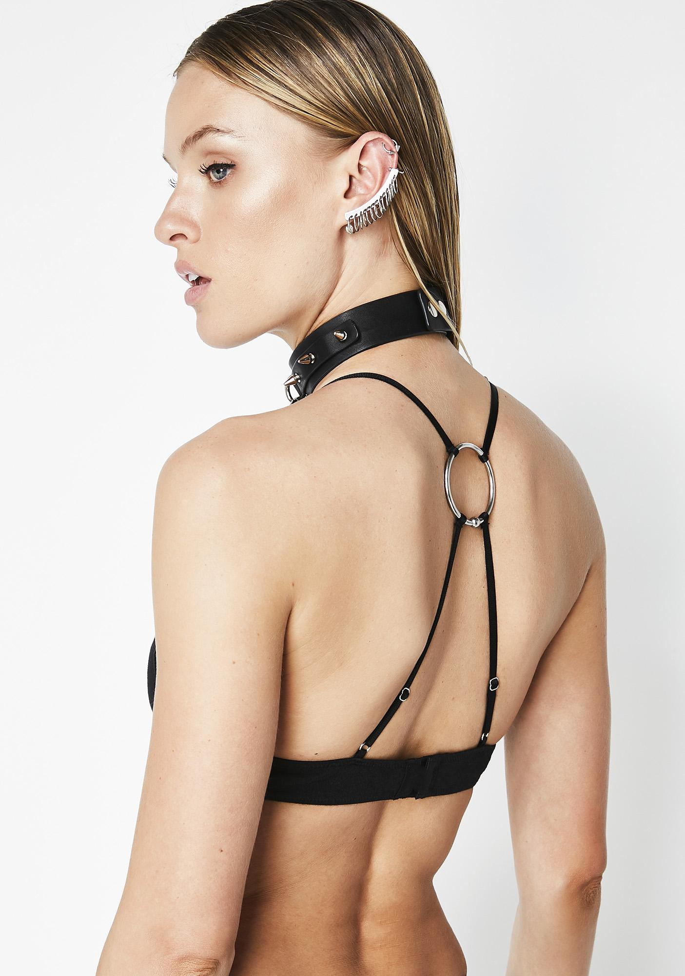 The End Lingerie Blood Prom Bralette