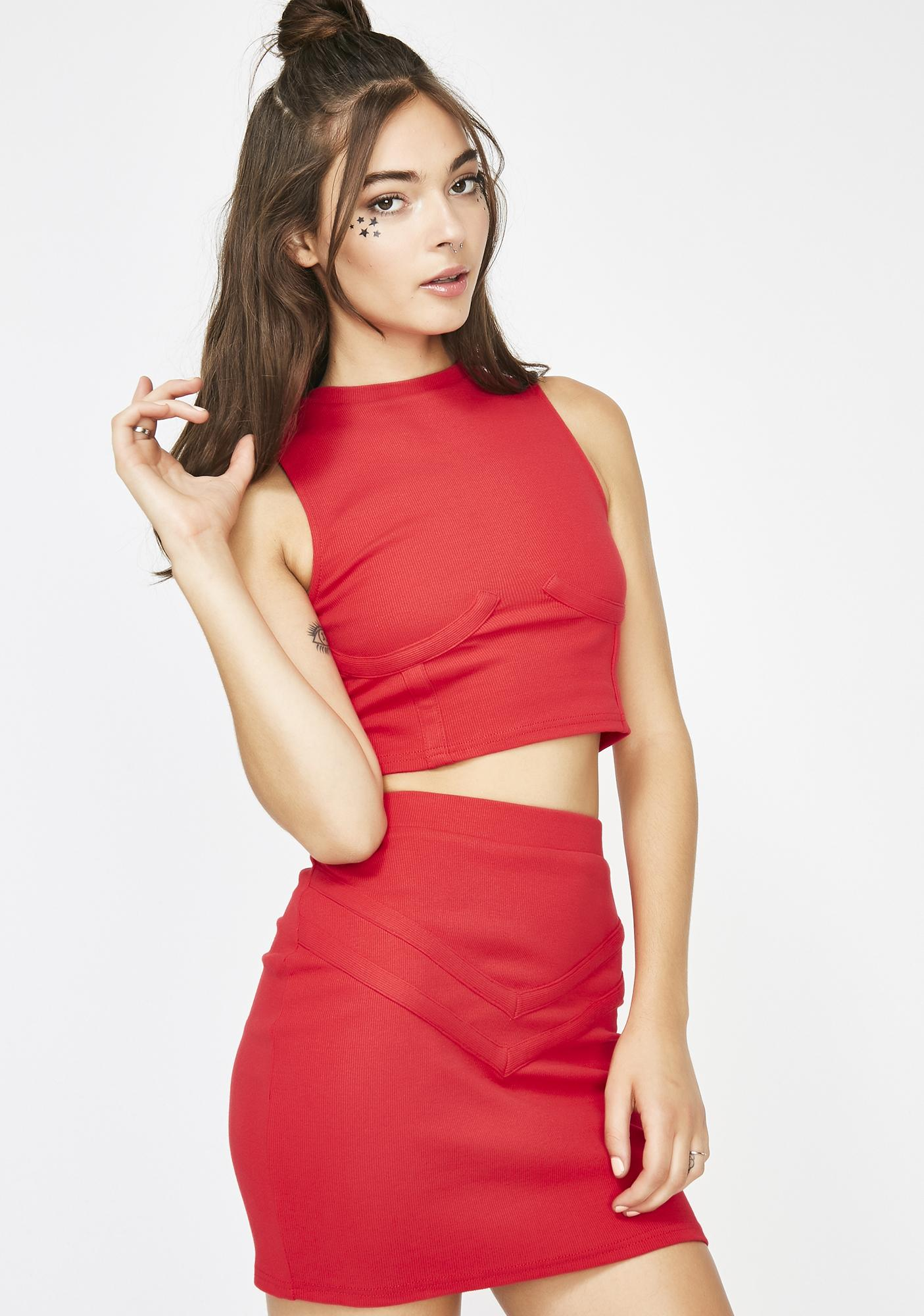 Get It Started Bodycon Set