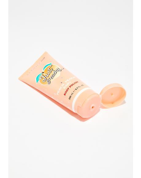 Just Peachy Body Scrub
