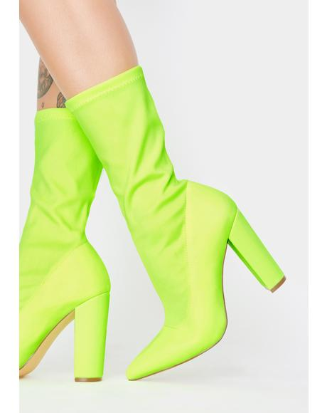 Shade Patrol Heeled Booties