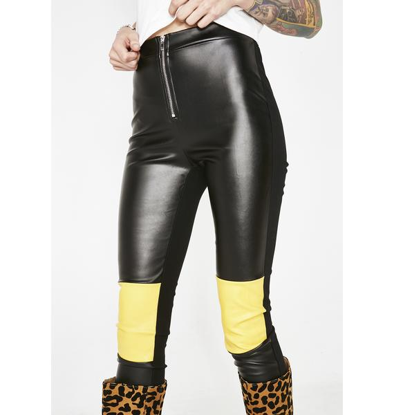 Chopping Block Vegan Leather Pants