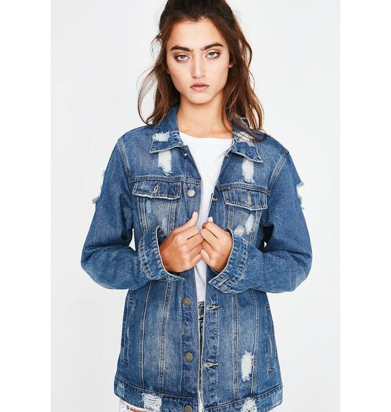 Race To The Top Jean Jacket