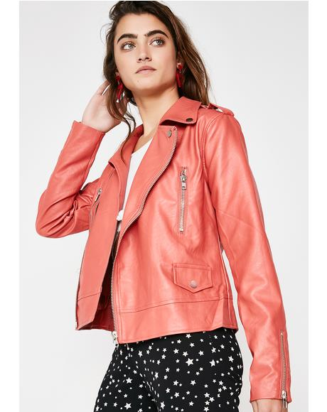 Along For The Ride Moto Jacket