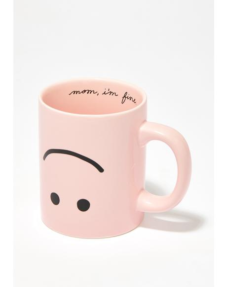 Happy Hot Stuff Ceramic Mug
