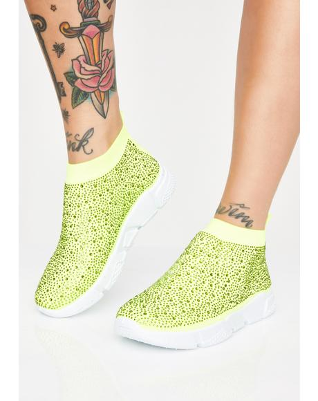 Diamonds Sock Sneakers