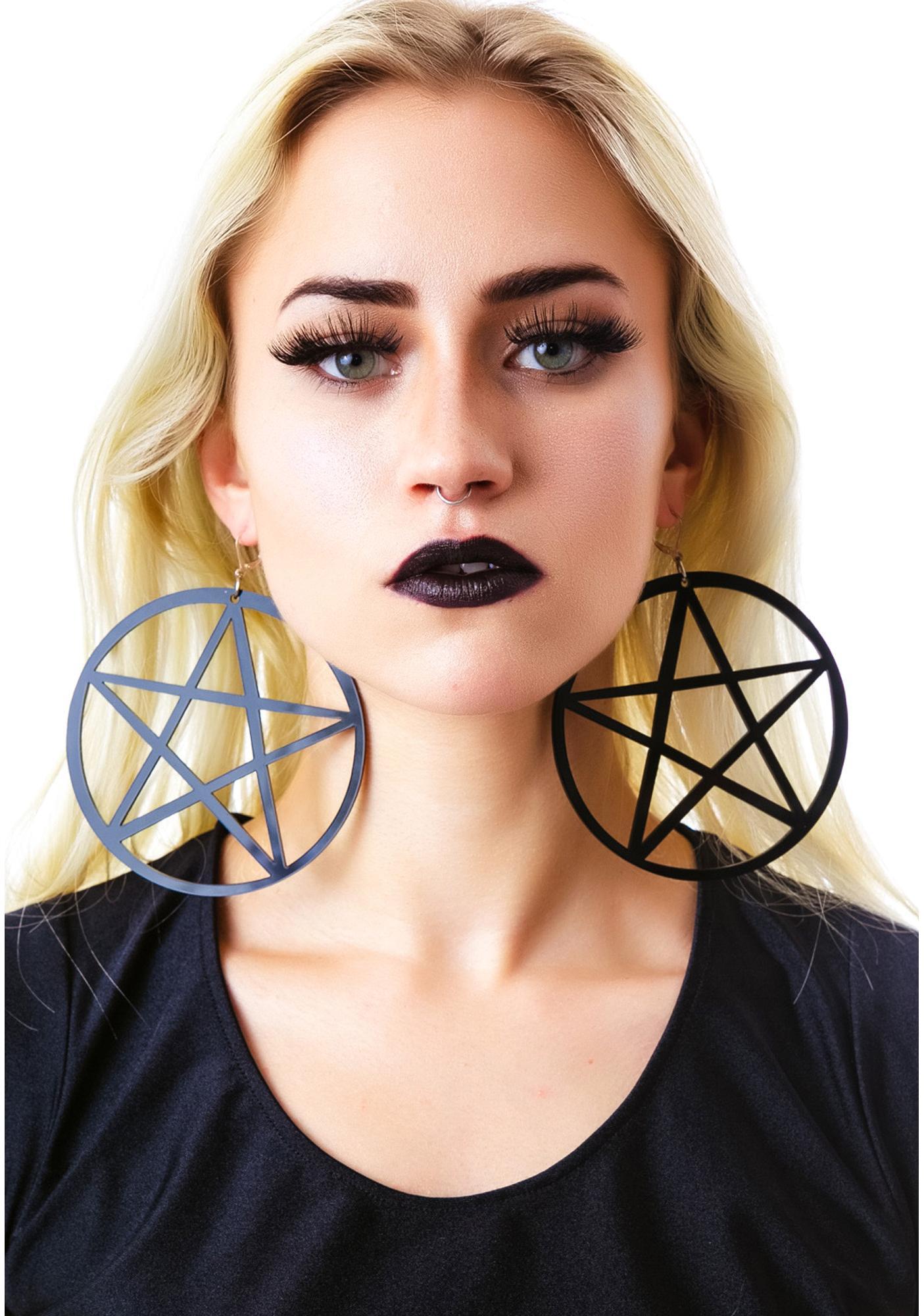 Marina Fini Mercy's Lost Pentagram Earring
