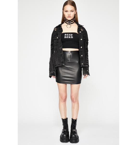Hellish Mercy Mini Skirt