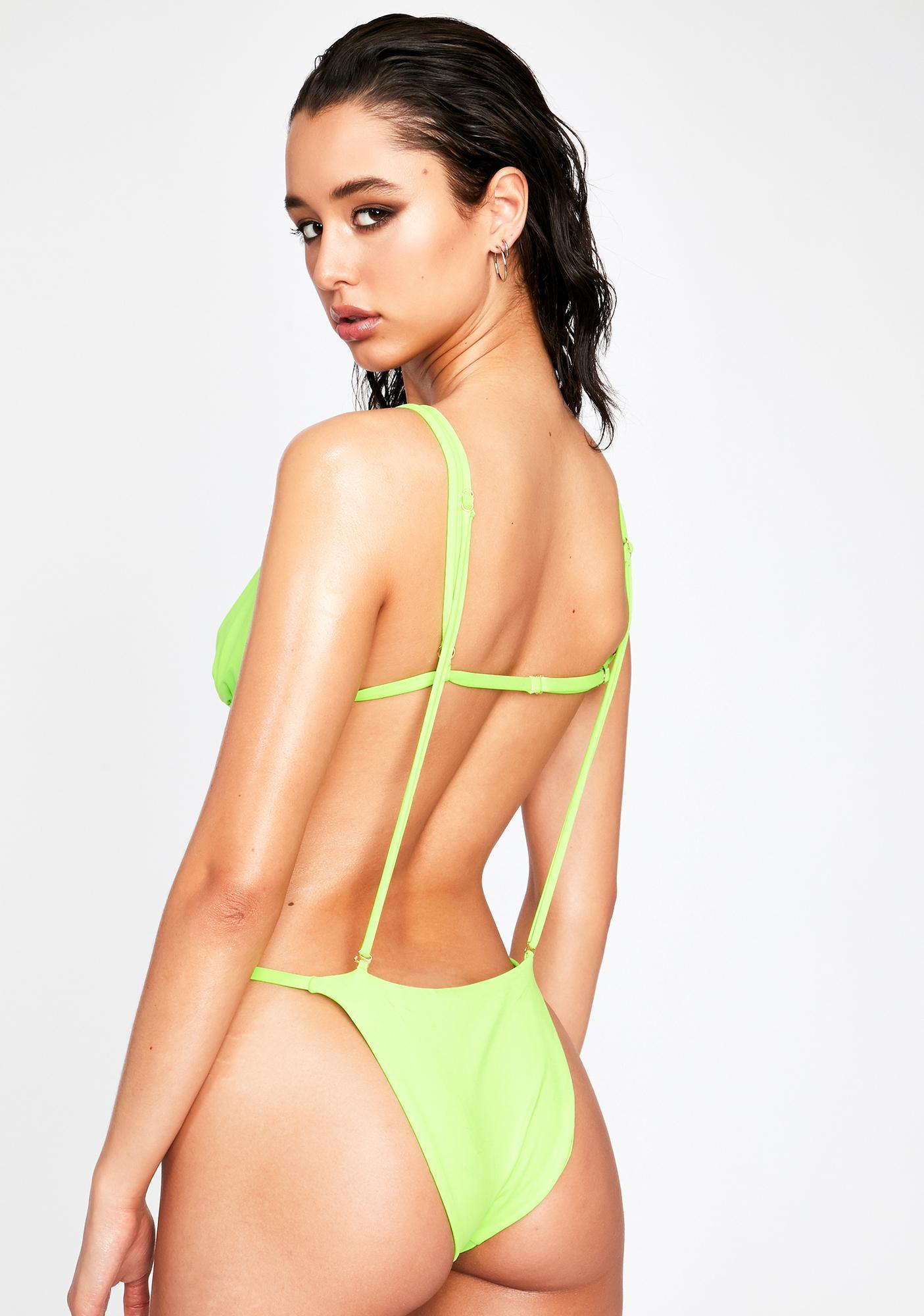 Made For Miami Strappy Monokini