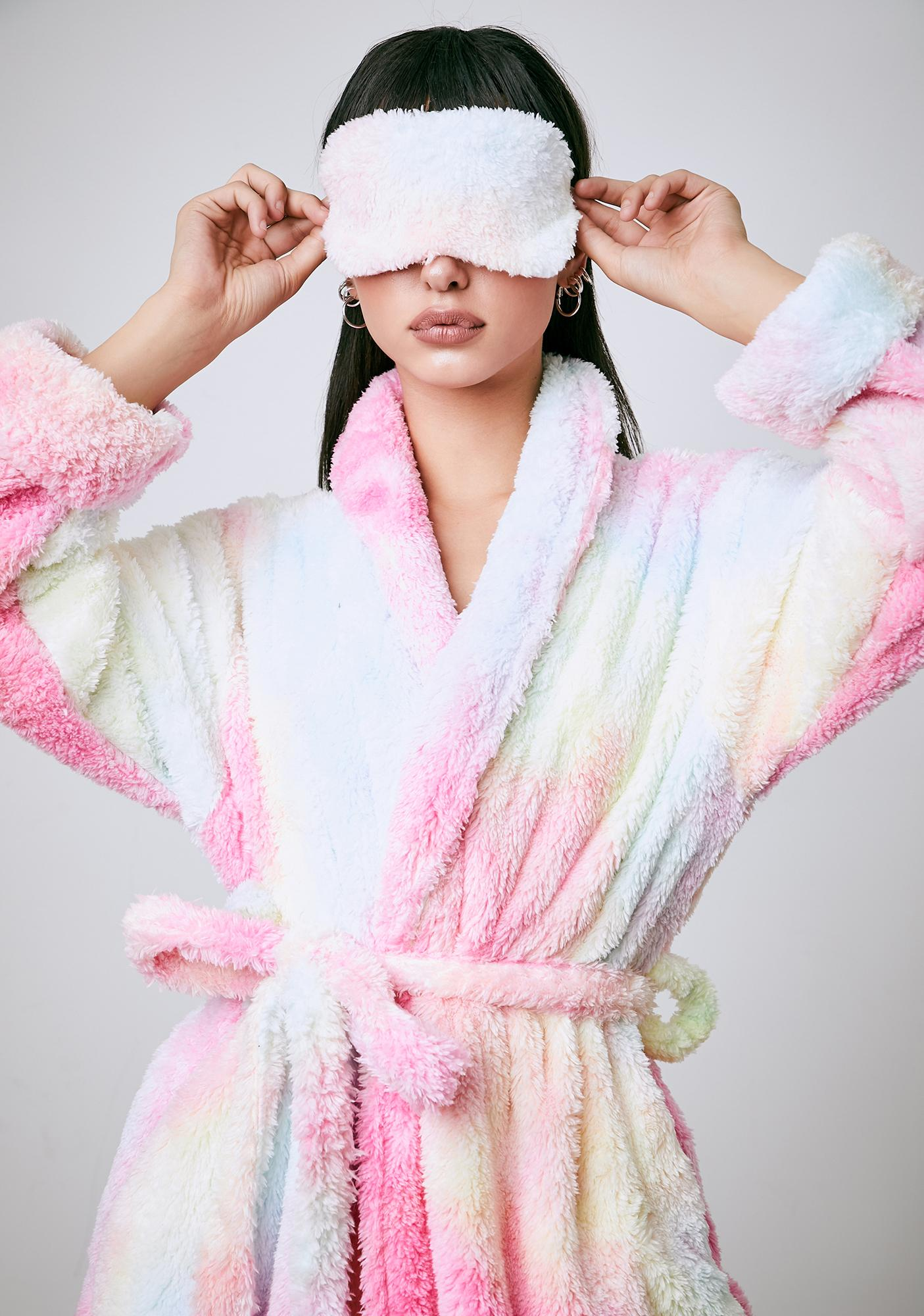 Current Mood Sweet Pixie Moonshine Tie Dye Robe Set
