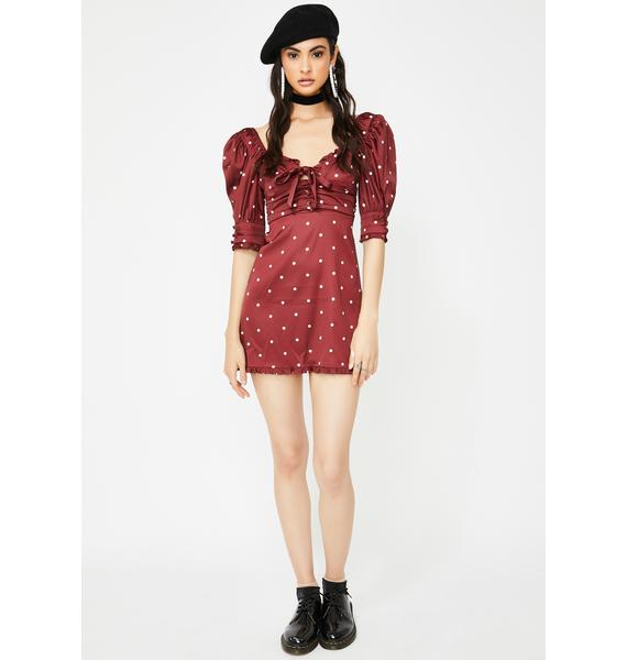 For Love & Lemons Davies Mini Dress