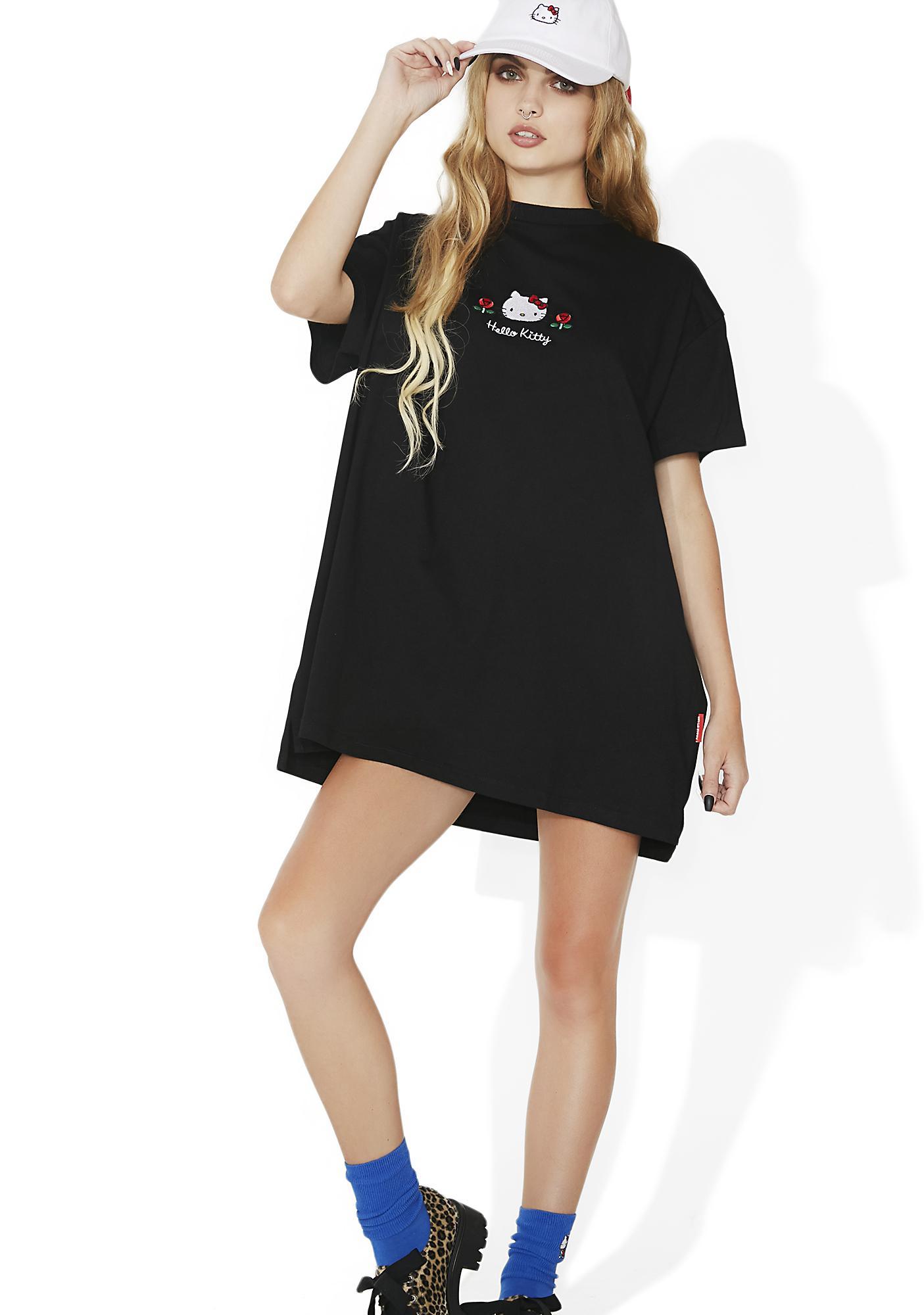 967e4c56582 ... Lazy Oaf Hello Kitty Oversized T-Shirt