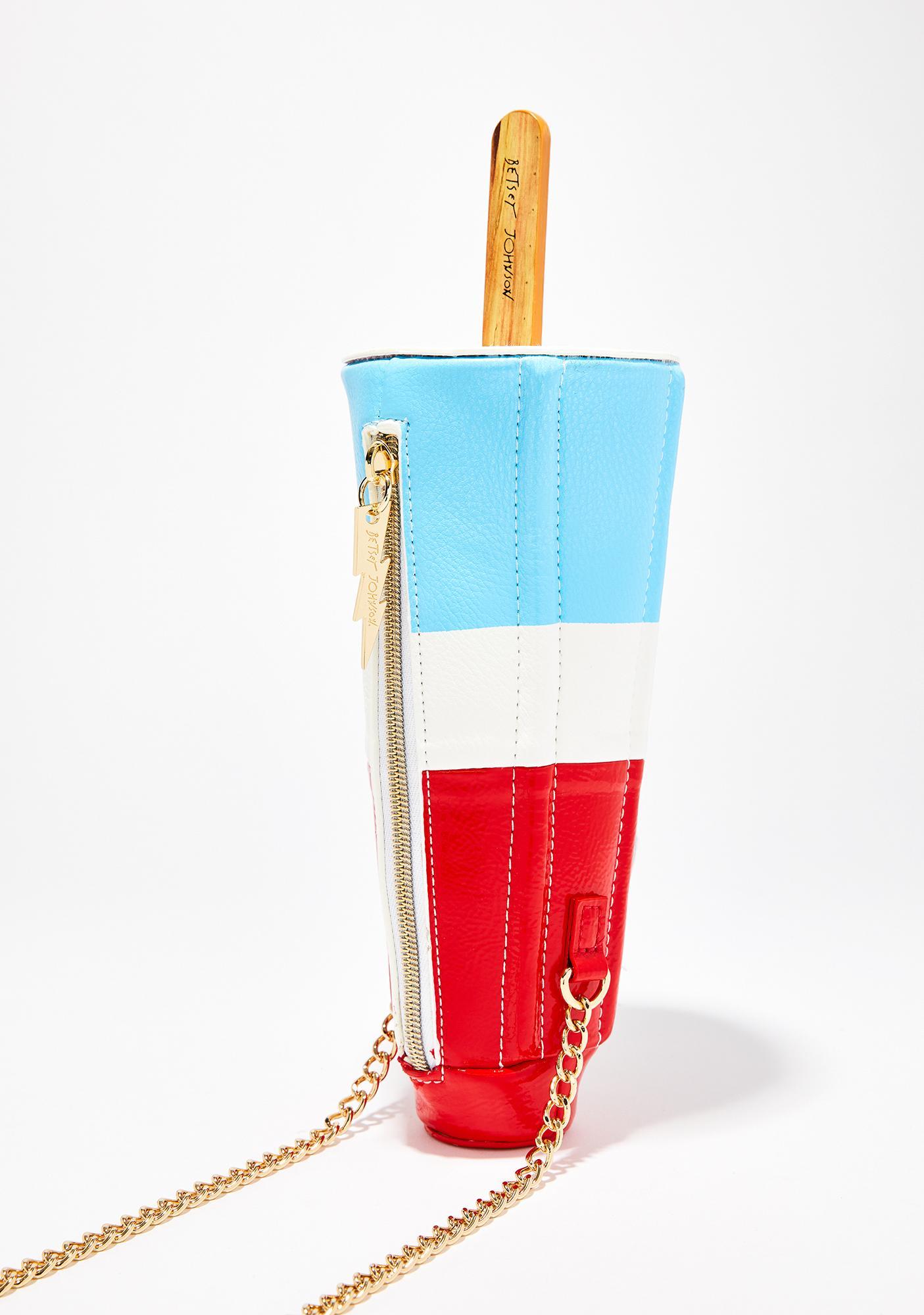 Betsey Johnson Kitsch Rocket Pop Crossbody