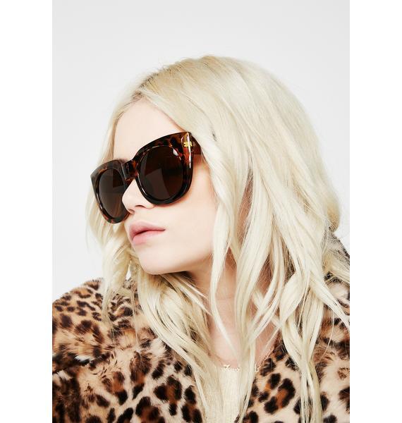 Servin' Sass Oversized Sunglasses
