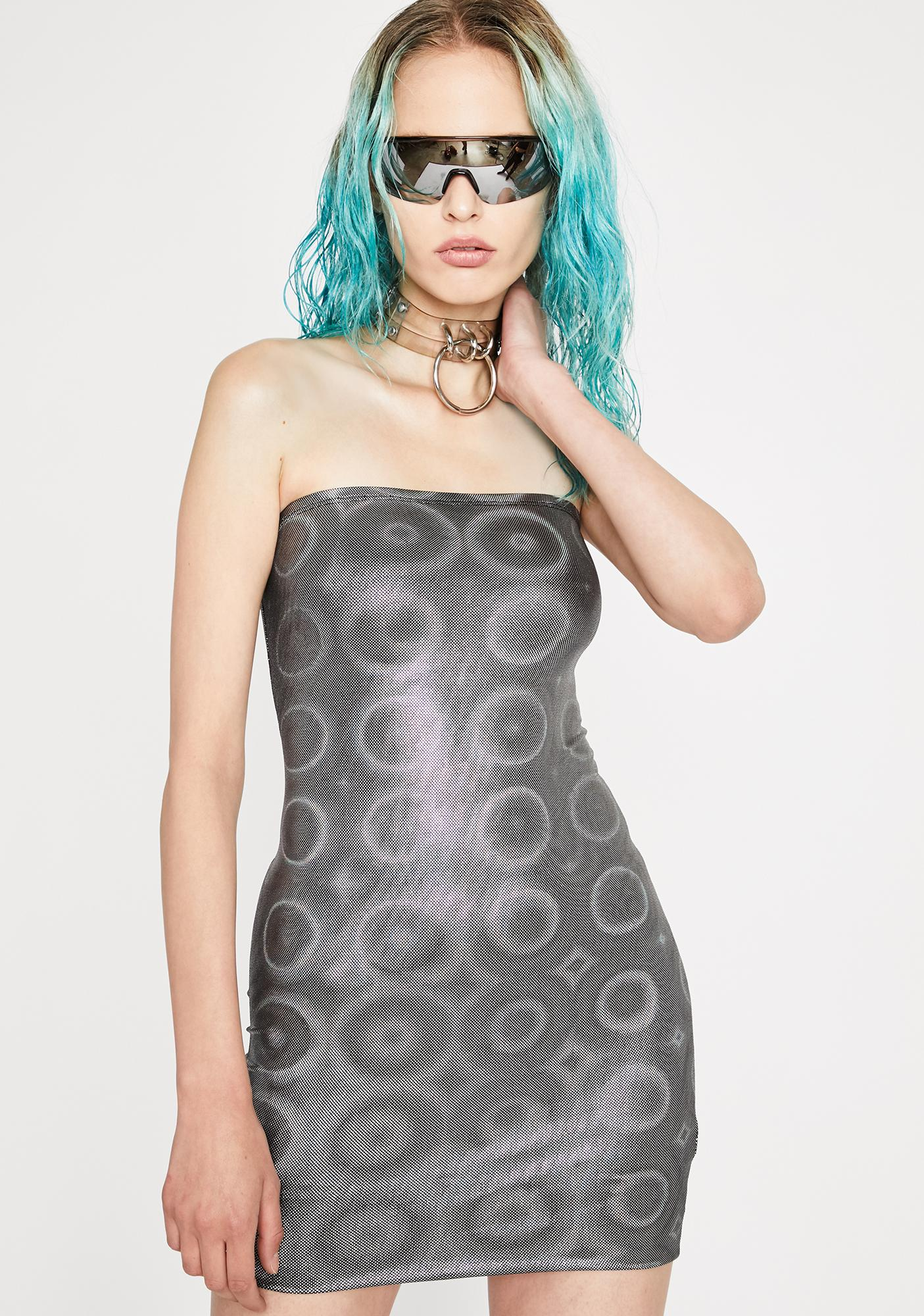 Deep Space Mini Dress