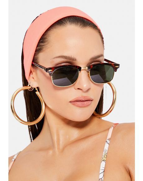 Tortoiseshell Breakfast Club Wayfarer Sunglasses