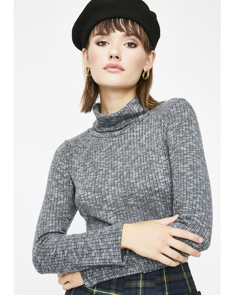 Stoned Word Up Turtleneck Sweater