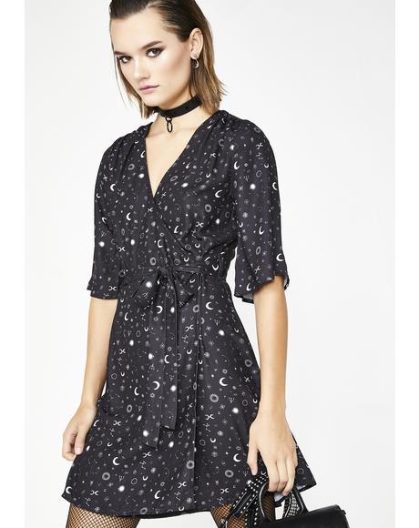 Kosmos Kimono Dress