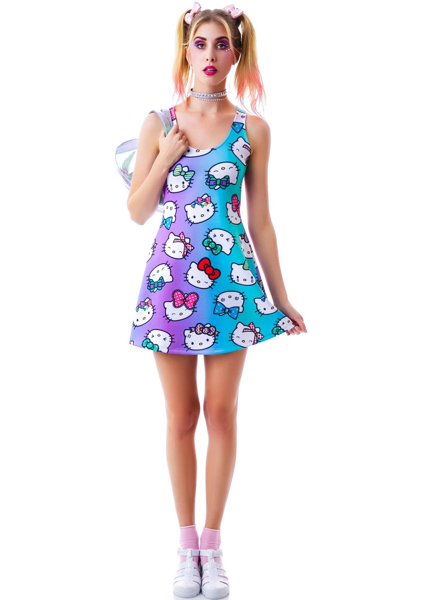 532ce49f1 Japan L.A. Hello Kitty All the Bows Dress | Dolls Kill
