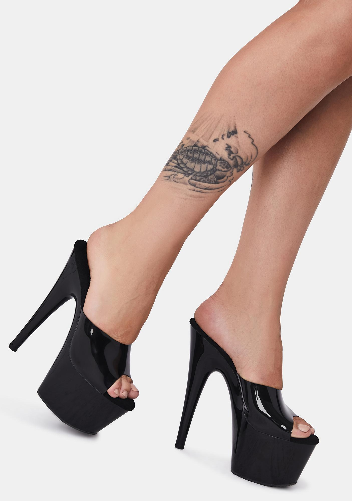 Pleaser Evil Trust Issues Platform Heels