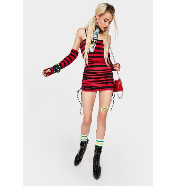 Current Mood Make Demands Mini Dress Set