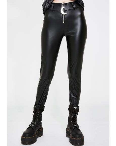 Helena Faux Leather Leggings