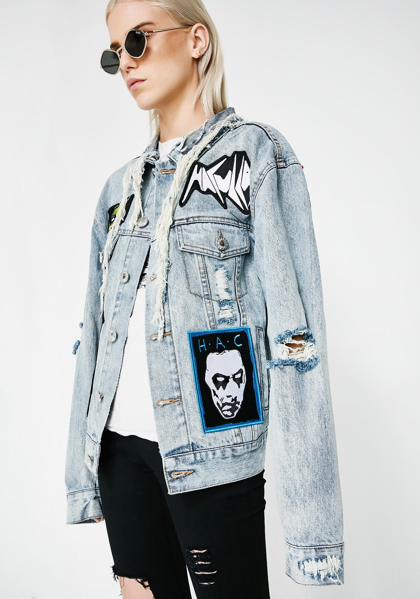 Haculla Mad Max Denim Jacket