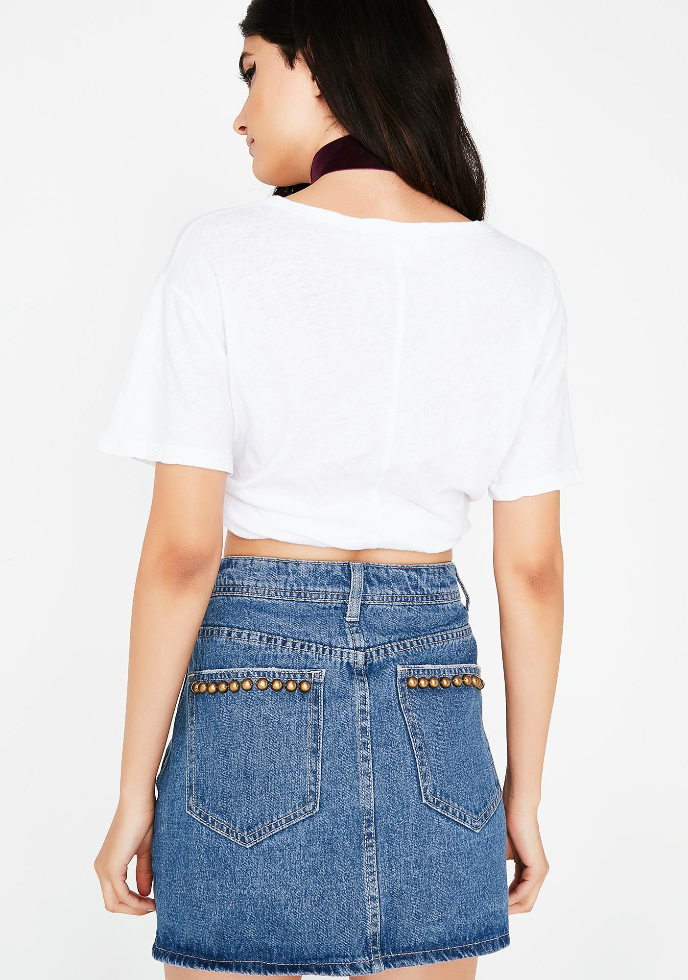 Got It Goin' On Denim Skirt