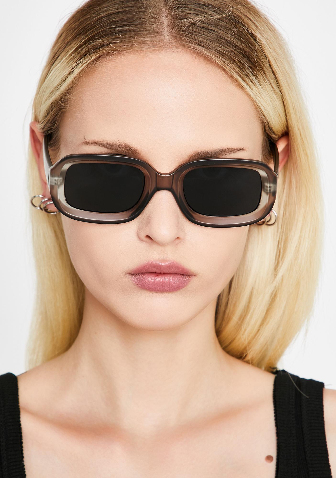 Smokin' Made Ya Look Square Sunglasses