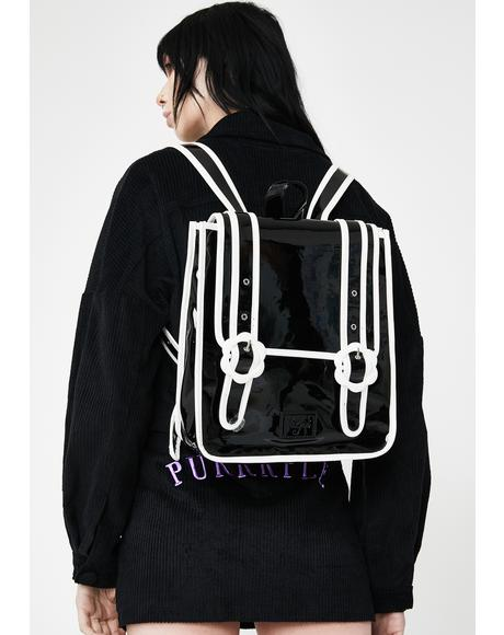 Daisy Patent Backpack