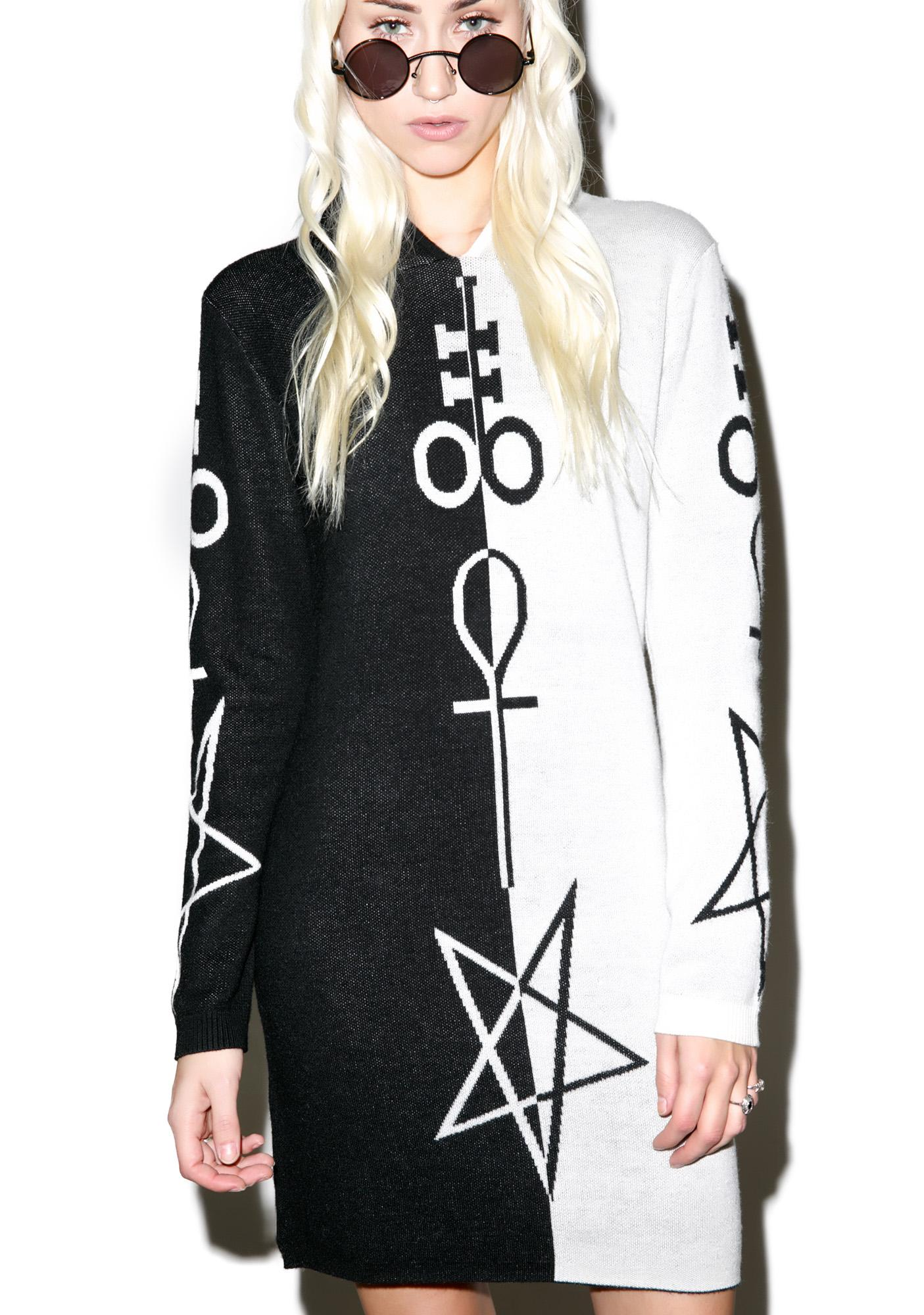 Killstar X Dolls Kill Opposition Hooded Dress