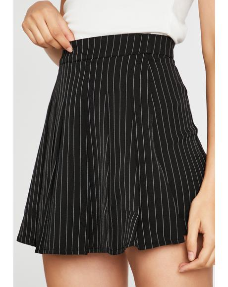 Mafia Mami Pleated Skort