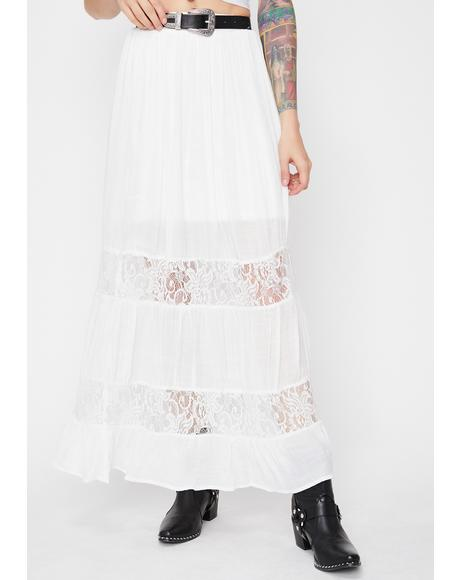 Gone To Heaven Maxi Skirt