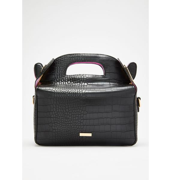 Skinnydip Ffion Croc Crossbody Bag