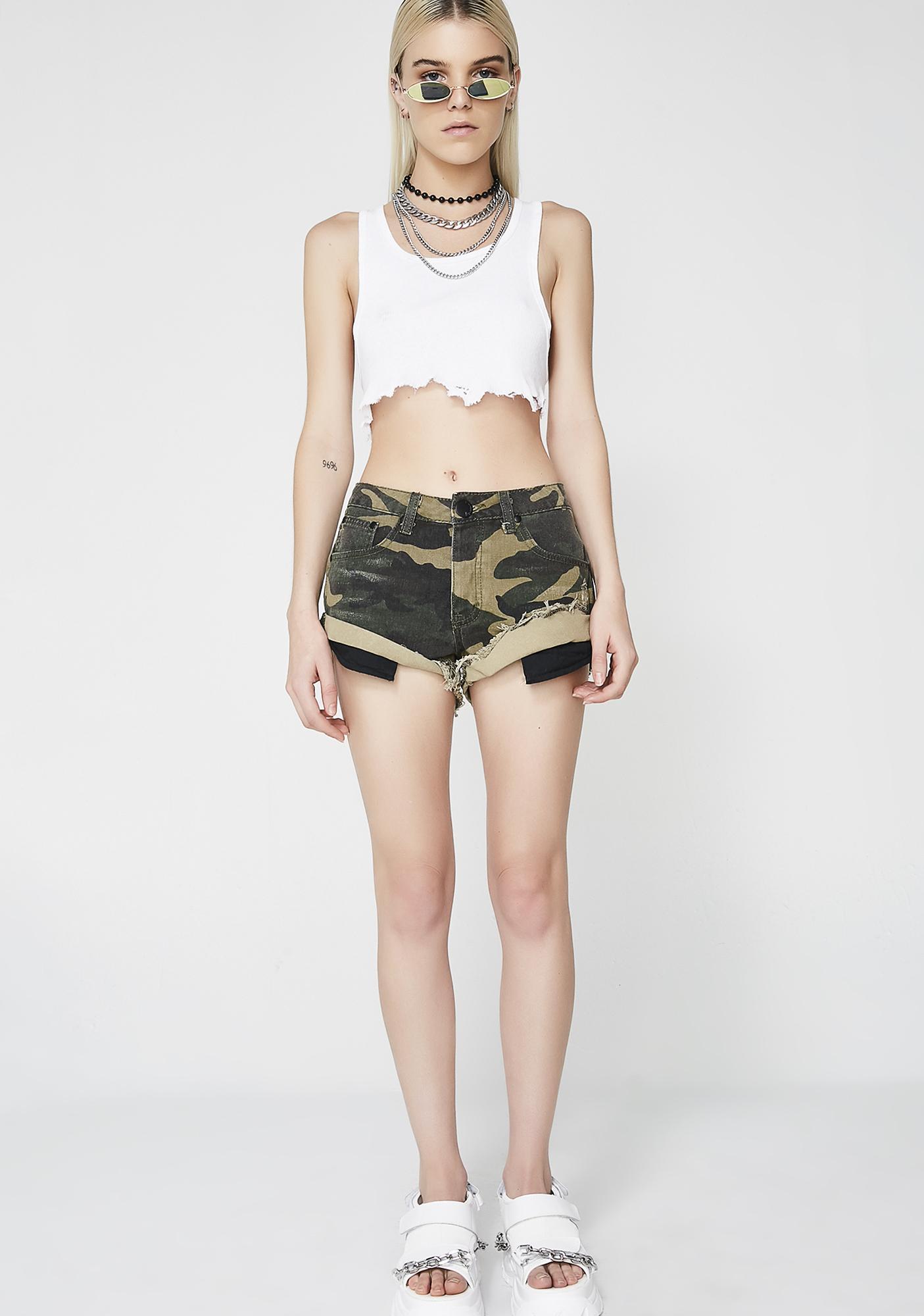 Command U Camo Shorts