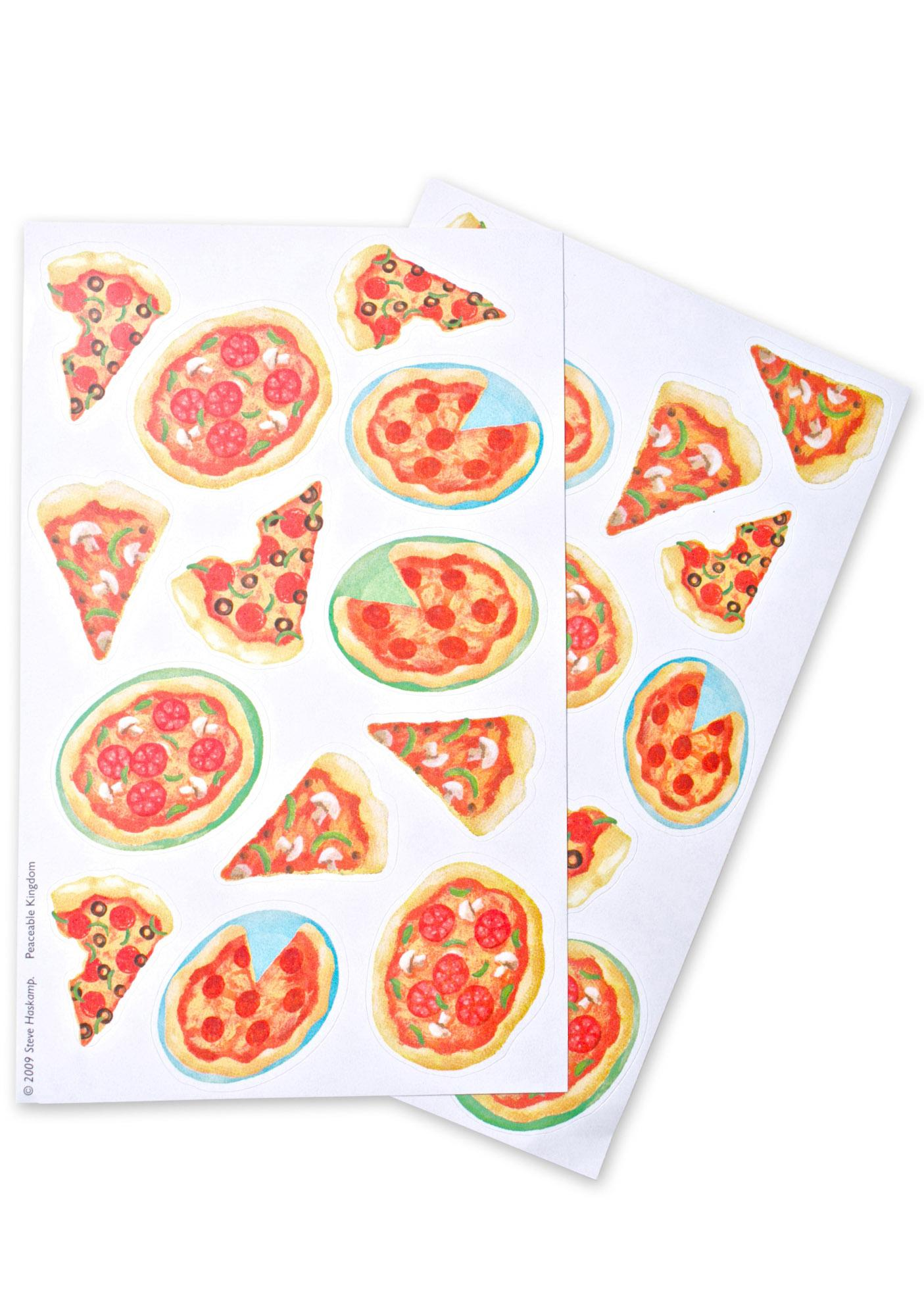 Pizza Scratch-And-Sniff Stickers