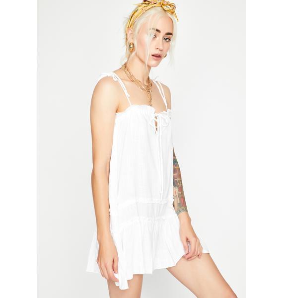 Summertime Gladness Ruffled Dress