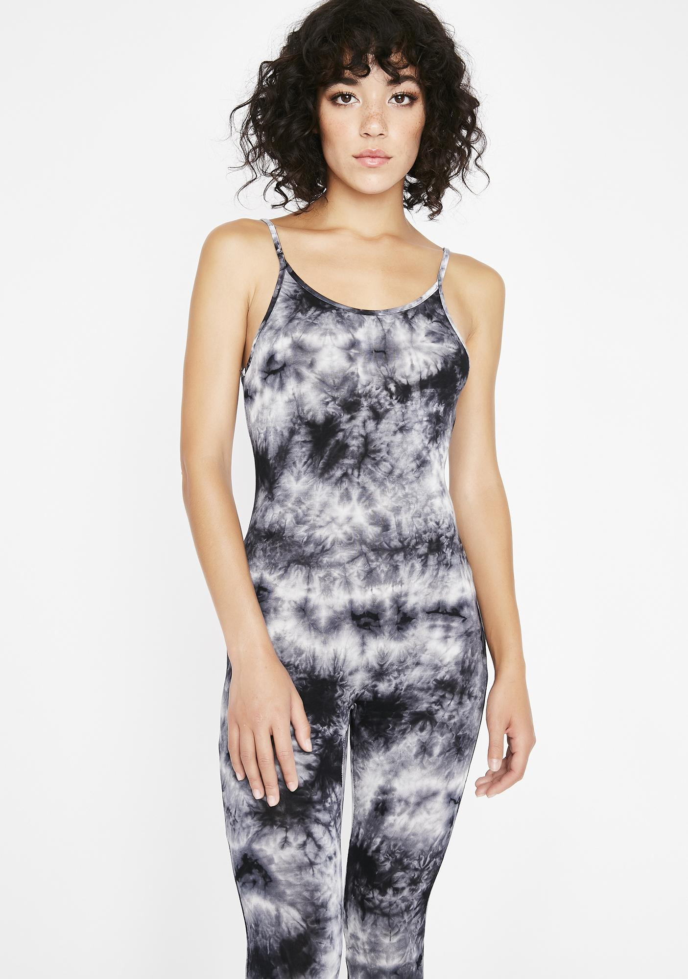 Bewitched Tie-Dye Catsuit