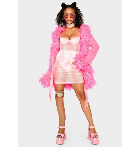 Sweet Boho Dream Bodycon Dress