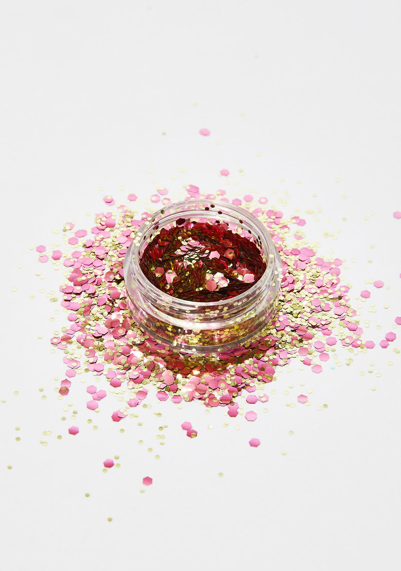 In Your Dreams Rose Gold Rush Bio Chunky Glitter