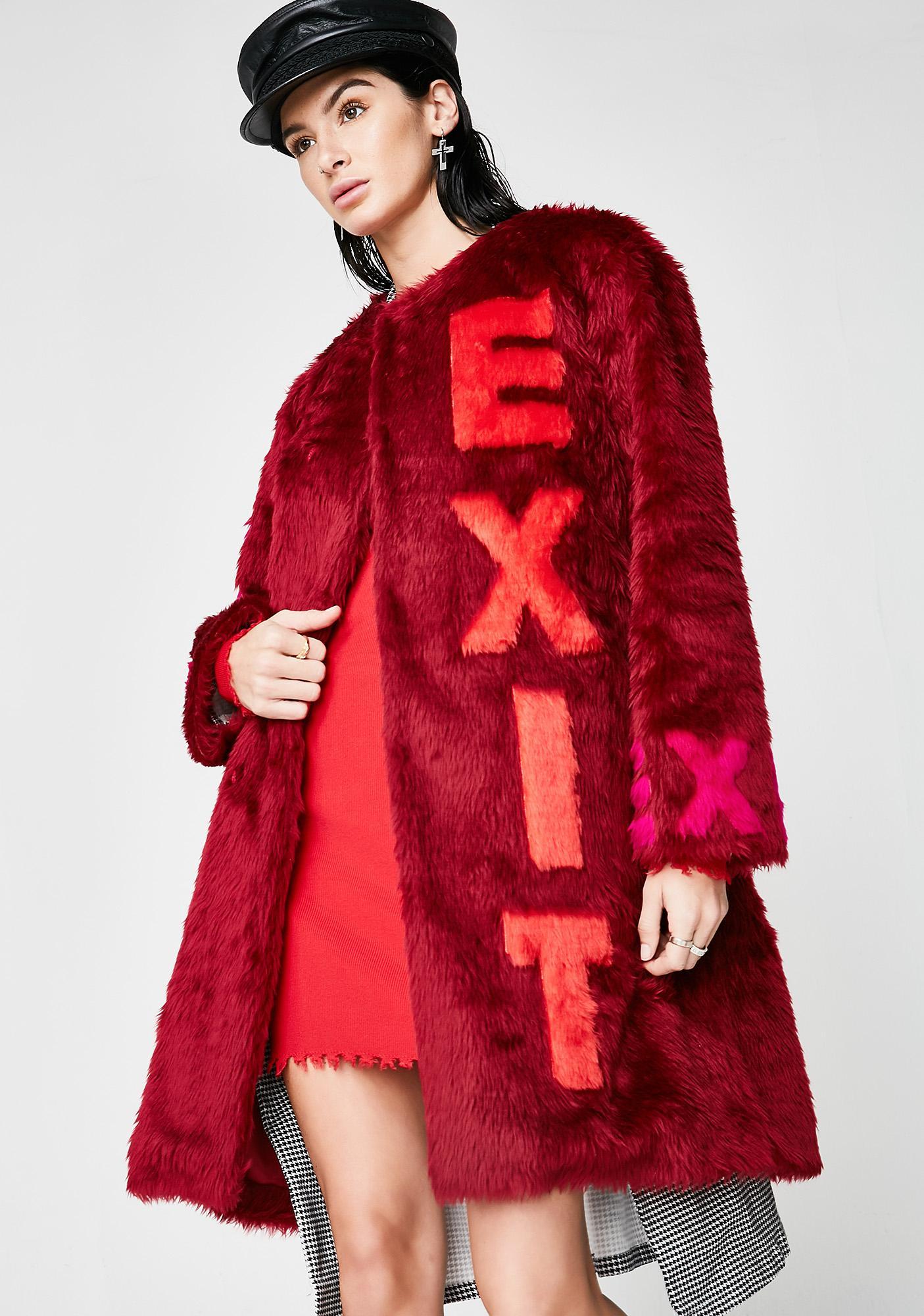 Feast Studio Vogue Long Fur Coat