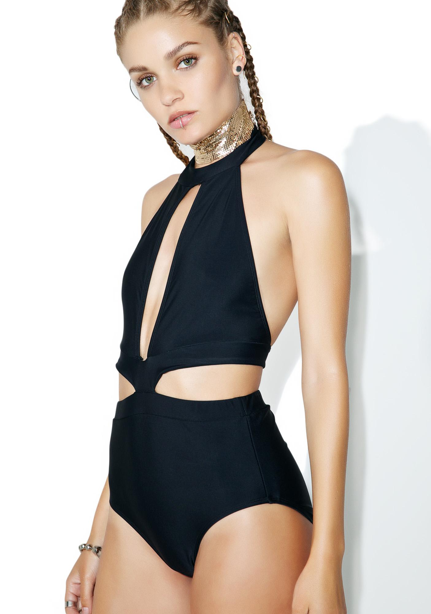 Motel Eliana Cut-Out One Piece