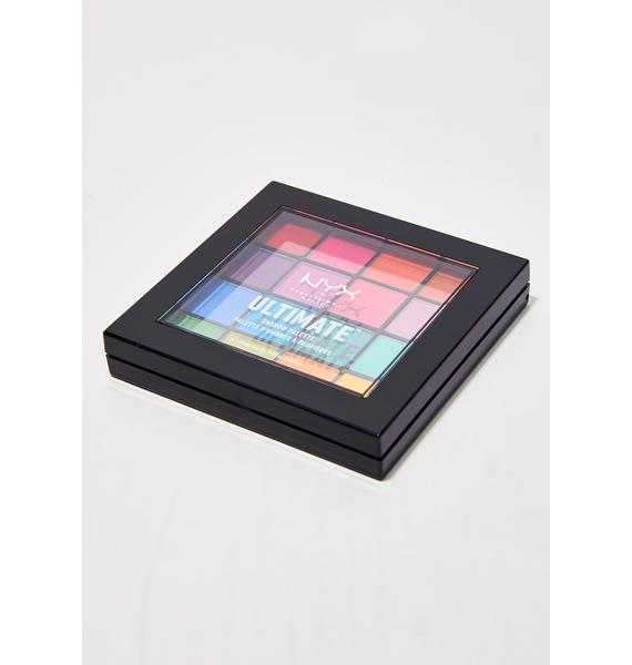 NYX Brights Ultimate Shadow Palette