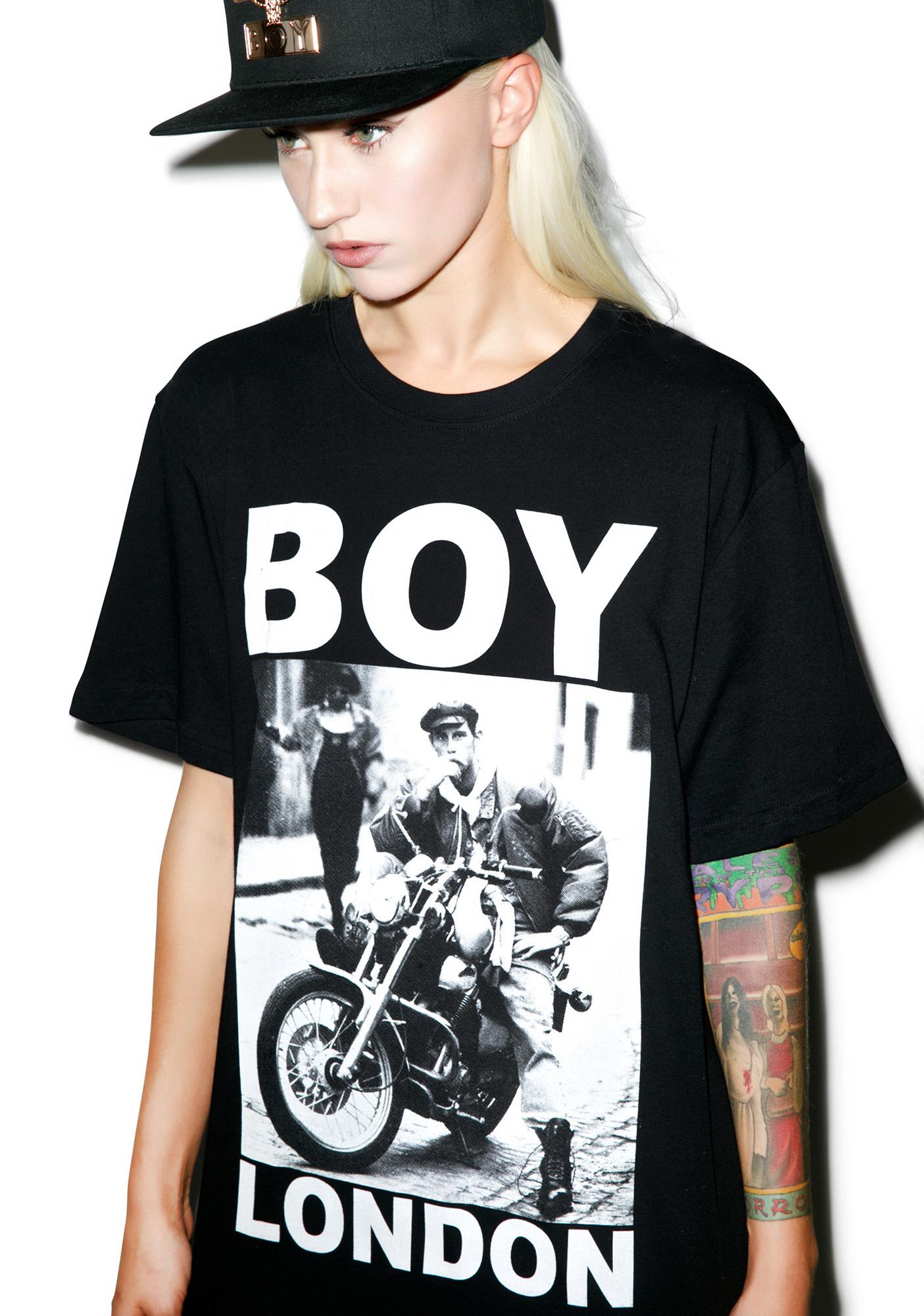BOY London Cafe Rider Standard Tee