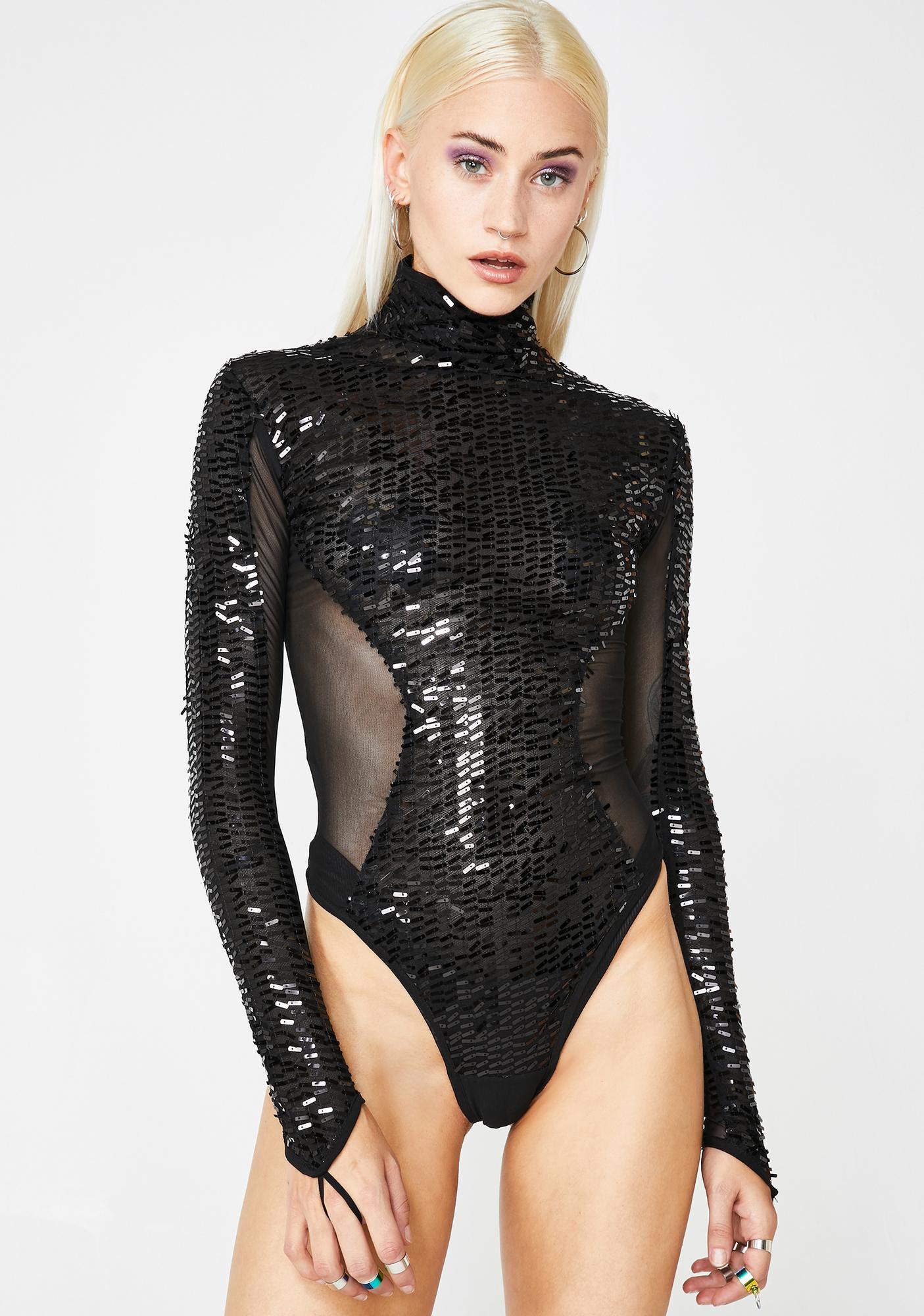 Stardust Coven Sequin Bodysuit