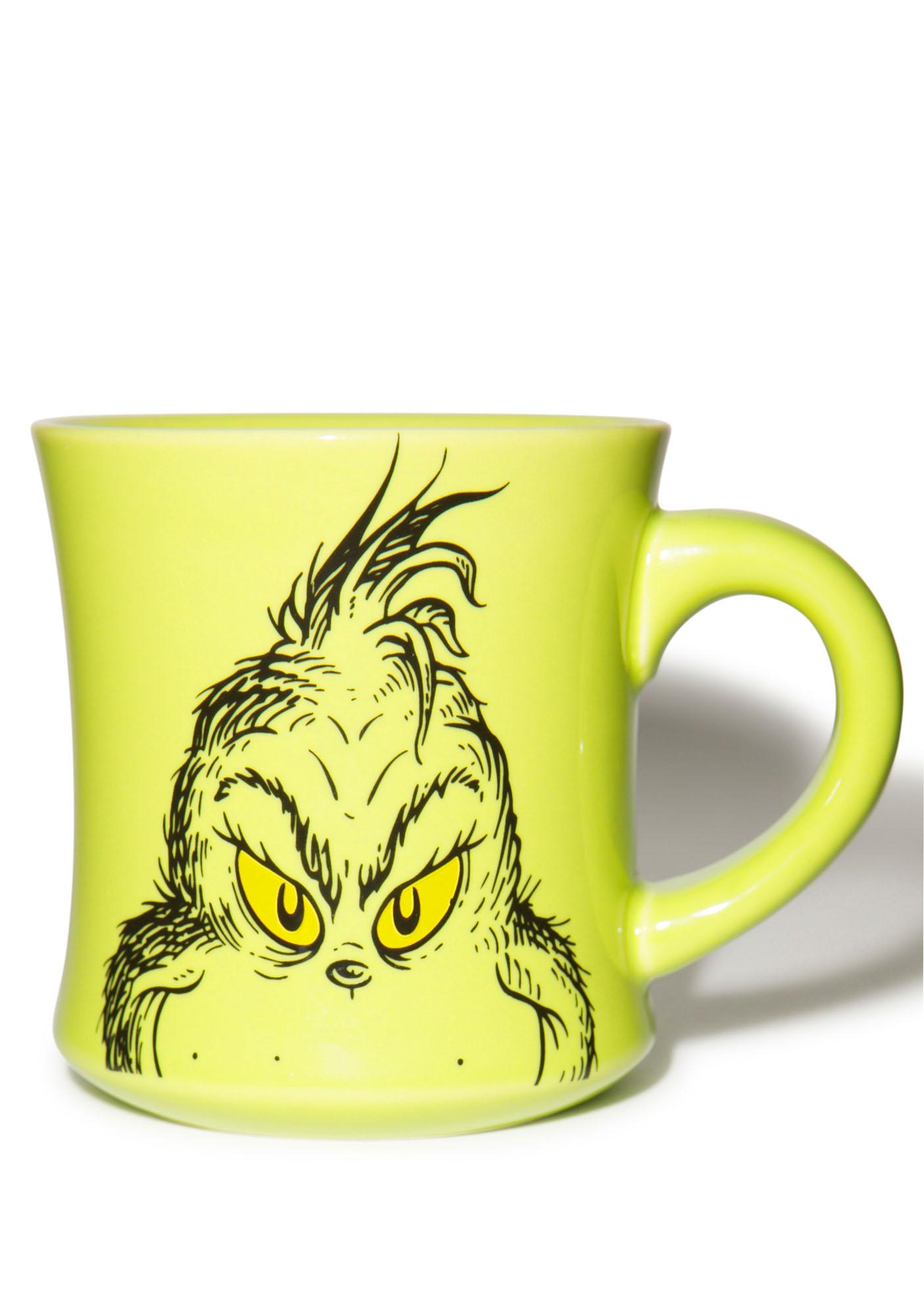 Grinch Holiday Ceramic Mug