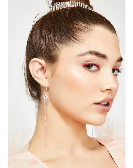 Party In The Stars Drop Earrings