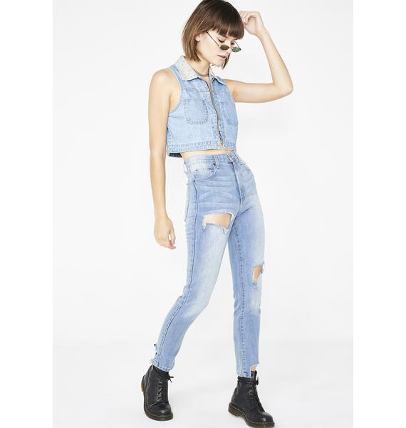 Phase Denim Lily Ara High-Waisted Jeans